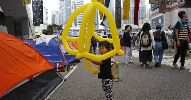 Hong Kong protesters scrap vote on what to do next