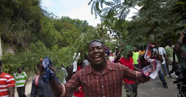 Protesters rally in Haiti capital demanding vote
