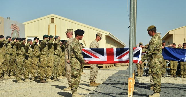 UK ends combat operations in Afghan province