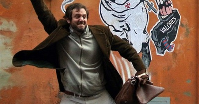 Poof: Pope Francis superhero street art disappears