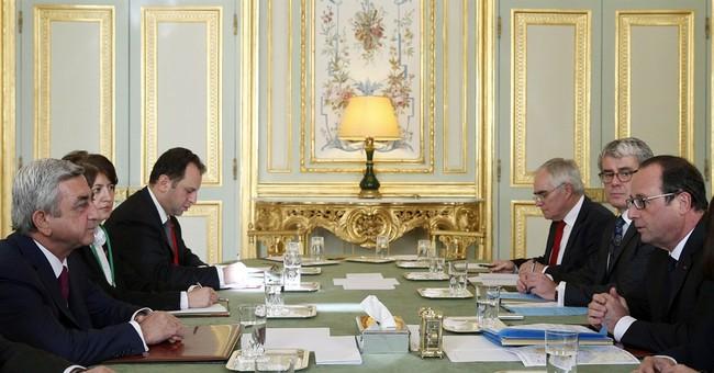 France hosts talks between Armenia and Azerbaijan