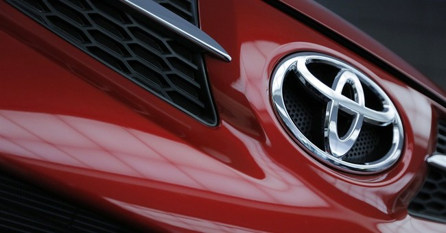 Toyota at top in global vehicle sales over VW, GM