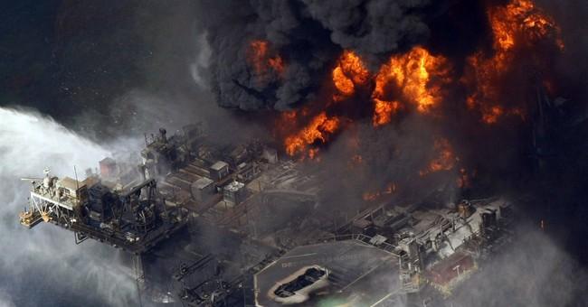 BP spill left big oily  'bathtub ring' on seafloor