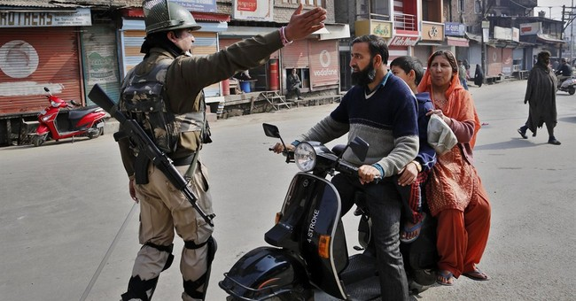 Image of Asia: India's presence in Kashmir