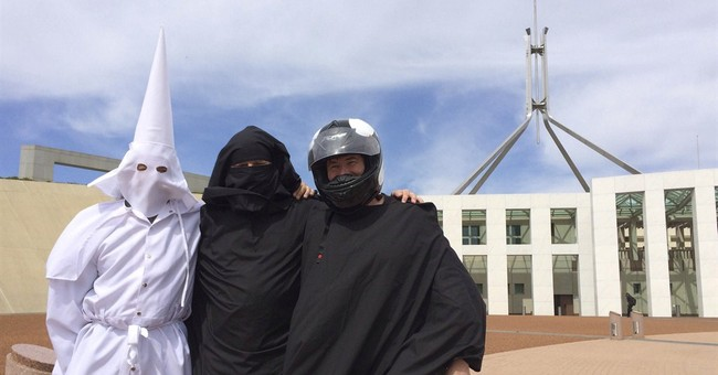 Trio test Australian Parliament's face veil rules