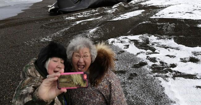 AP PHOTOS: Seeking votes above the Arctic Circle