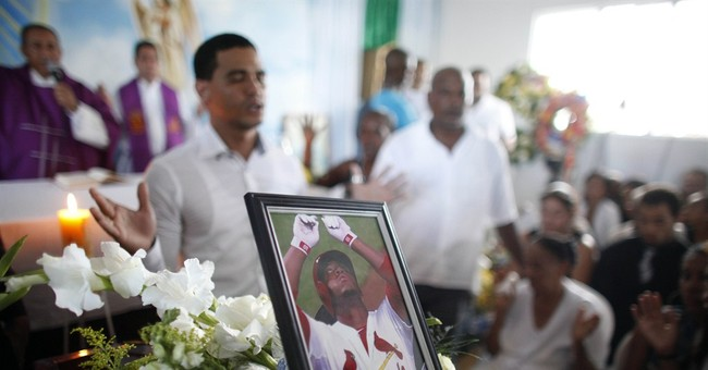 Thousands attend Oscar Taveras' Dominican burial