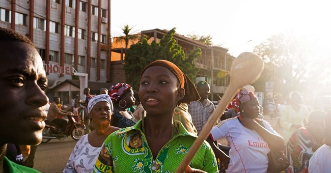 Rally protests another term for Burkina Faso prez