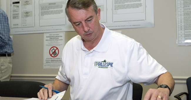 GOP's Gillespie needles Warner in pro-Redskins ad