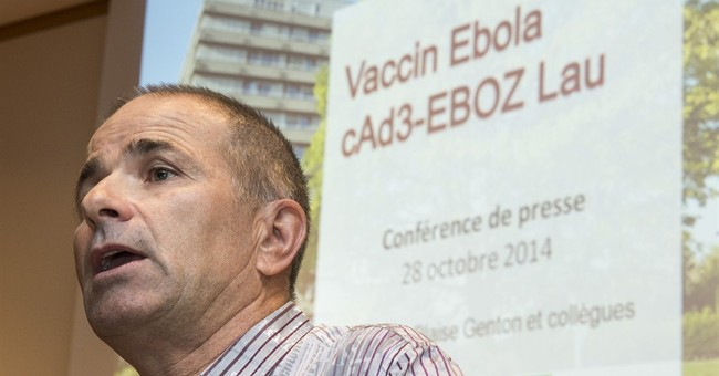 Swiss agency approves trial for Ebola vaccine