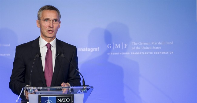 NATO chief: Strong alliance for better Russia ties