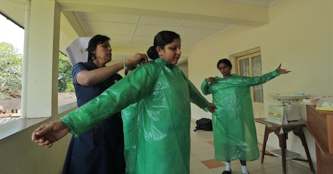 WHO issues new guidance on Ebola protective gear
