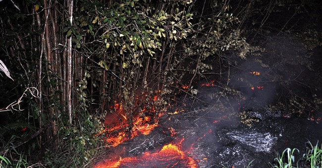 Questions, answers about Hawaii lava flow