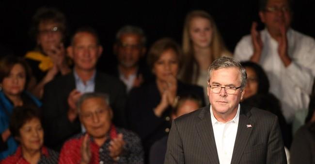 Jeb Bush swipes at Hillary Clinton in Colorado