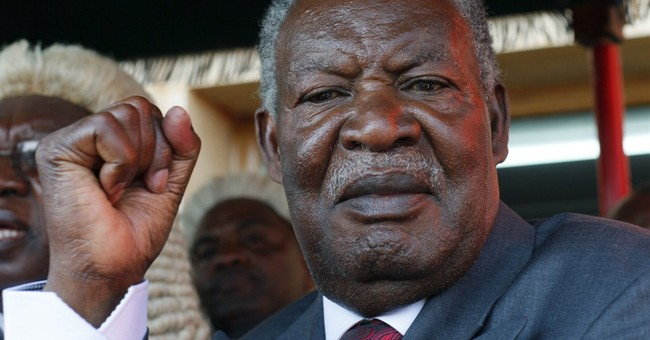 Body of Zambian president arrives home