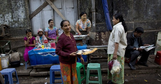 Myanmar's story, told by one crumbling building