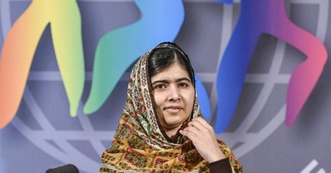 Malala donates prize money to rebuild Gaza school