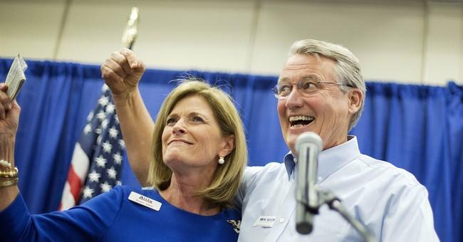 Romney backs up Perdue on jobs in Ga. Senate race