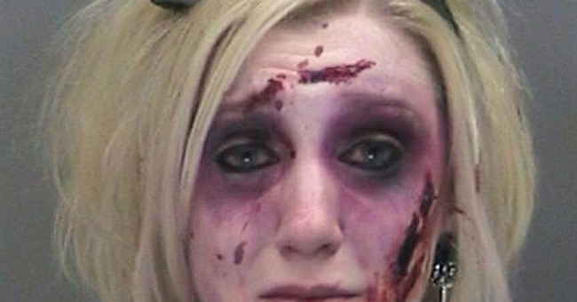 Woman in zombie costume charged twice with DWI