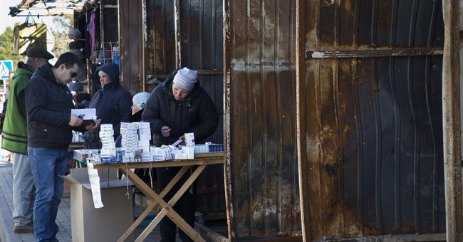 Brutal winter set to hit war-torn eastern Ukraine