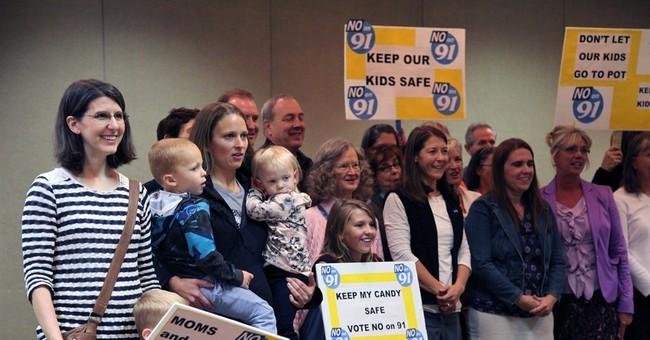 Oregon, Alaska are ground zero in pot fight
