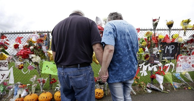 Tribal service held for Washington school shooter