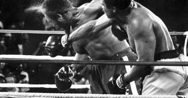AP PHOTOS: A look back at the Rumble in the Jungle