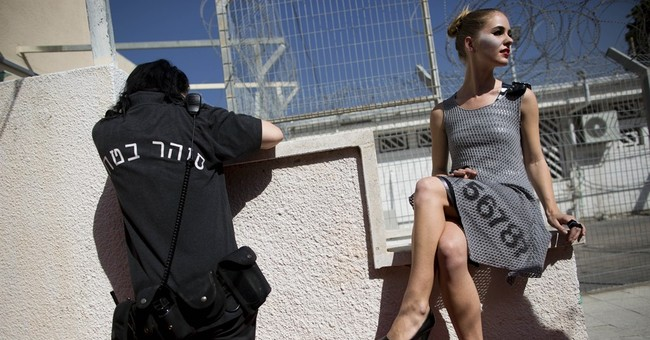 AP PHOTOS: Israel prison hosts inmate fashion show