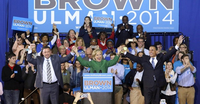 Campaign brings Clinton, O'Malley, to same event
