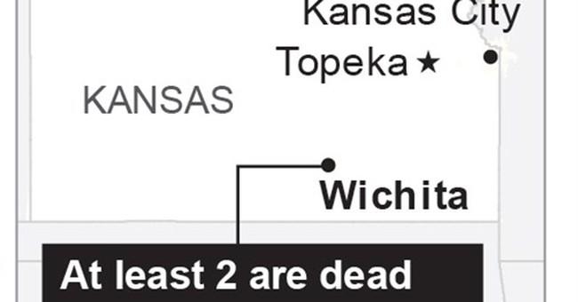 Plane crashes at Kansas airport, killing 4