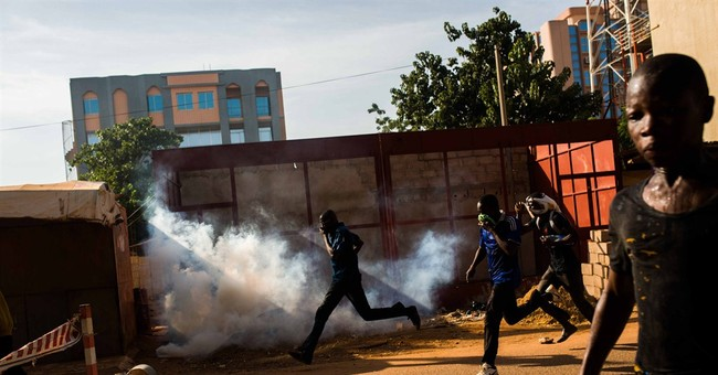 Burkina Faso: 2nd soldier says he's president