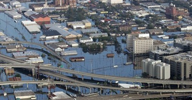 Landrieu revisits Hurricane Katrina in Senate race