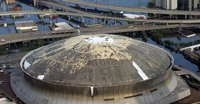 Landrieu revisits Hurricane Katrina in Senate race