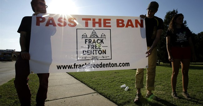 North Texas town voting on fracking ban