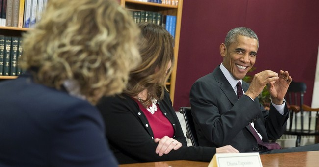 Before midterms, Obama plugs policies for women