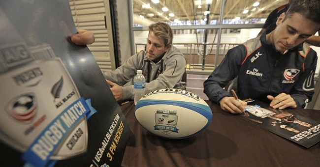 All Blacks in Chicago for exhibition vs. USA Rugby