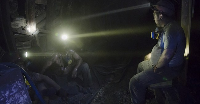 Coal miners stuck in the middle of Ukraine's war