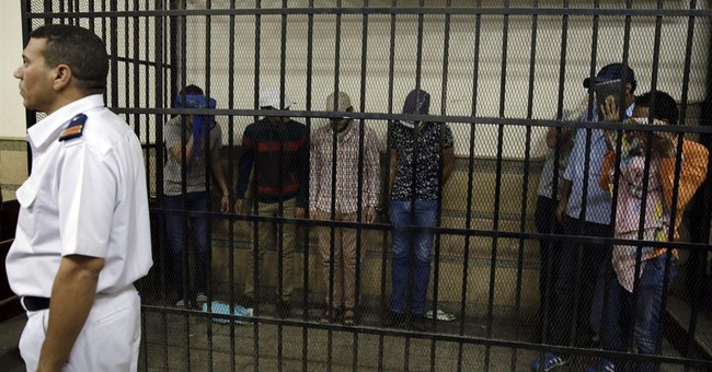 8 convicted for alleged same-sex wedding in Egypt
