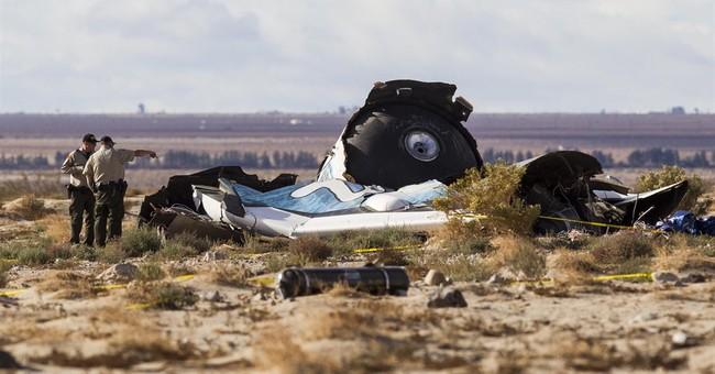 Official: Debris sign of spaceship breaking up