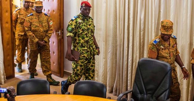 Gunfire breaks out in Burkina Faso capital