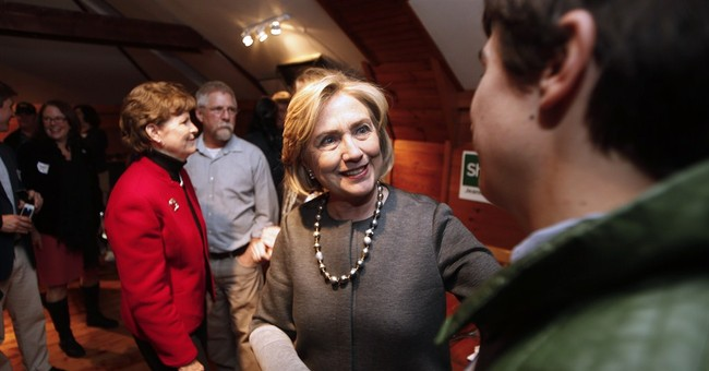 In New Hampshire, Clinton shows family ties