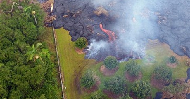 Rain tamps down smoke from Hawaii lava