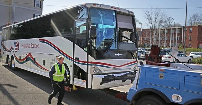 Redskins: 1 player injured bus accident