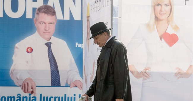 Exit polls: Romanian PM will face mayor in runoff