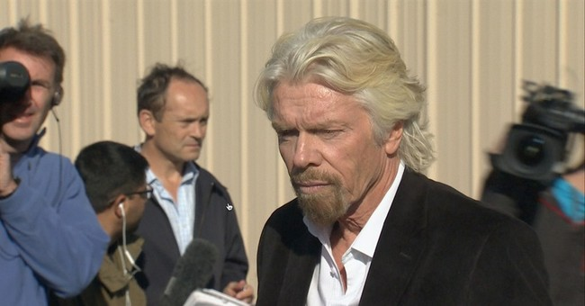 Branson goal is travel to distant points on Earth