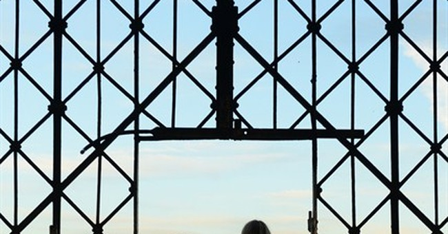 Historic gate at Dachau concentration camp stolen