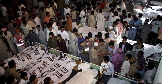 Suicide attack kills nearly 54 in eastern Pakistan