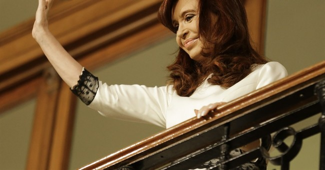 Argentine president in hospital with fever