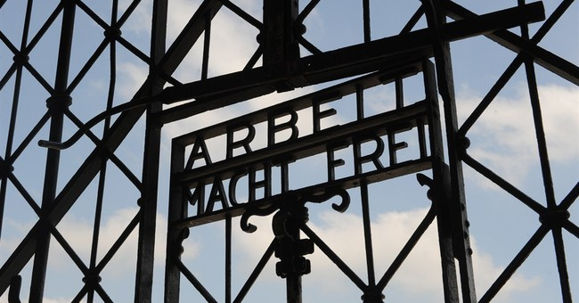 Historic gate at Dachau concentration camp stolen