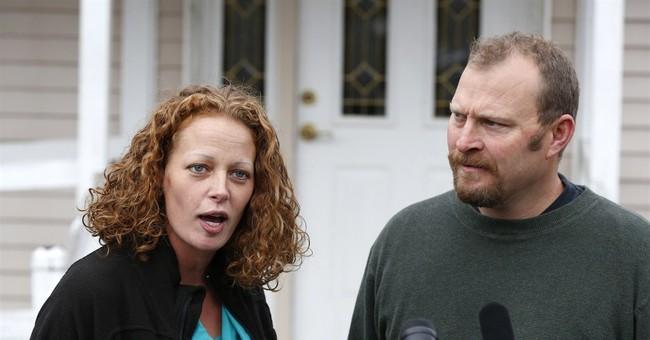 Maine nurse's boyfriend still barred from campus